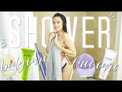 Calming Spa-Like Shower Routine | Body Hair Removal, Skin Treatments and More!