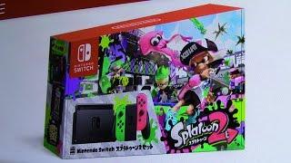 本日5/18から「NintendoSwitchスプラトゥーン2セット」の予約が開始されるぞー! 動画キャプチャー