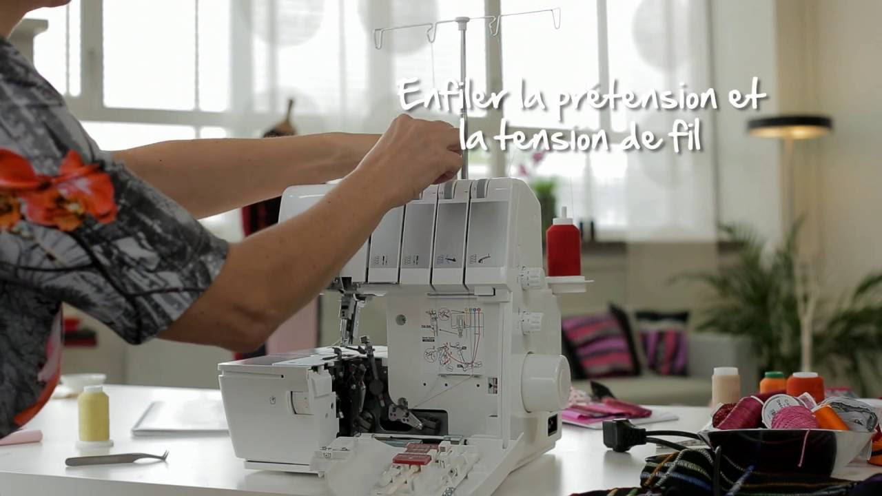 BERNINA L 450 : introduction vidéo 3/8