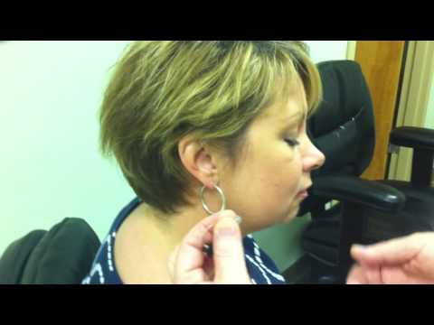 How to insert and remove behind the ear hearing aid