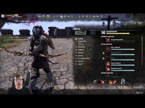 Stamina Nightblade Pve Bow Build — Elder Scrolls Online