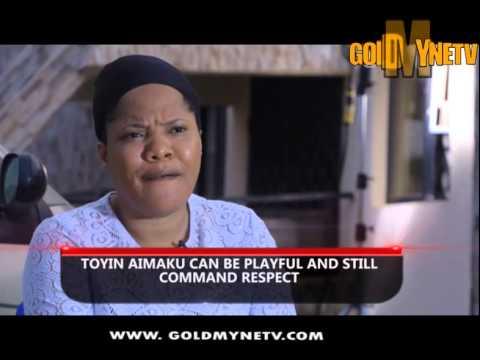 ACTRESS TOYIN AIMAKHU'S INTERVIEW: MY HUSBAND ACCEPTS MY PLAYFUL ATTITUDE
