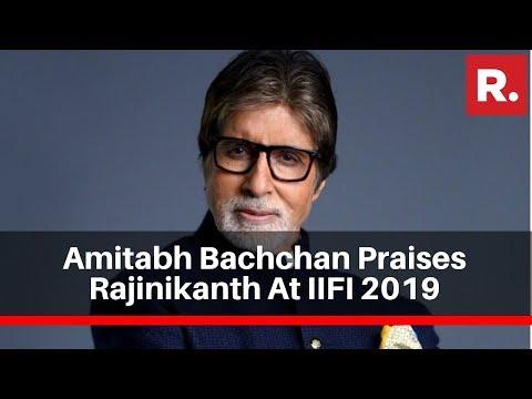 IFFI 2019: Amitabh Bachchan Praises Rajinikanth As Both Are Honoured At Film Festival In Goa