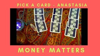 Money Matters Pick a card~Gypsy Cards with Anastasia!