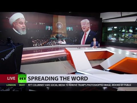War of words: Trump & Rouhani take swipes at each other during debate at UNGA