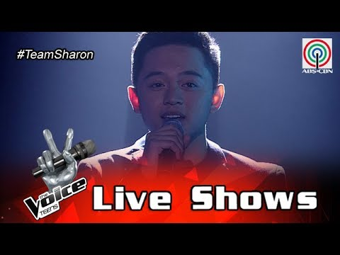 The Voice Teens Philippines Live Show: Jeremy Glinoga - How Did You Know