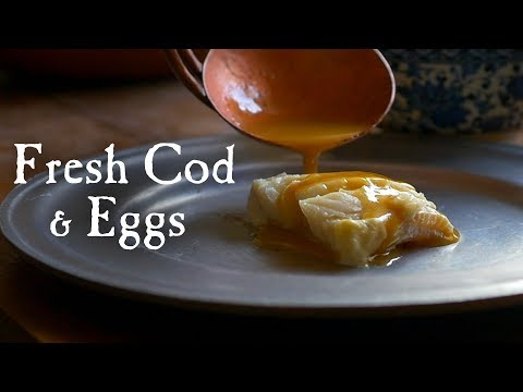 """Cod With An """"Eggy"""" Sauce"""