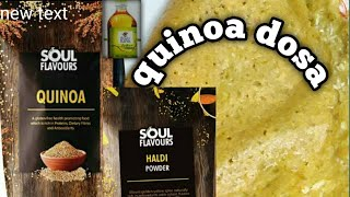 Quinoa dosa recipe ##modicare##/ by Mrs chhaya adatia chhaya adatia
