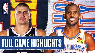 NUGGETS at THUNDER | FULL GAME HIGHLIGHTS | February 21, 2020