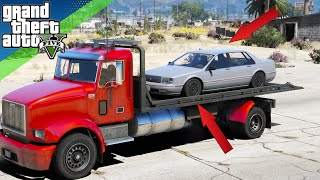 GTA 5 - How To Put Cars On TRAILERS (PS3, PS4, Xbox360, XboxOne, PC)