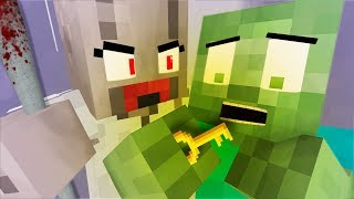 ✅ Monster School : 👻 FULL GRANNY HORROR GAME CHALLENGE - Minecraft Animation
