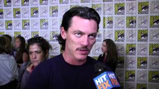 Люк Эванс, Luke Evans on the magic of Comic-Con and the challenges of 'The Hobbit'