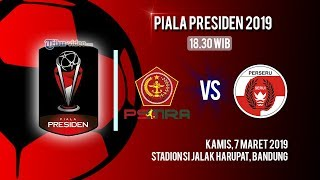 Sedang Berlangsung! Live Streaming Piala Presiden 2019 Tira Persikabo Vs Perseru Serui