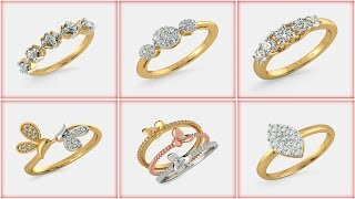 Best Bluestone Gold Rings Designs From