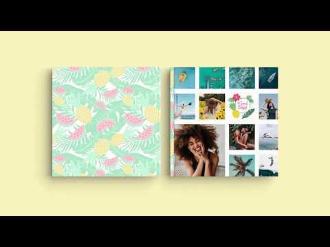 Inspiração para a capa do seu Álbum Digital - 'Férias de Verão'