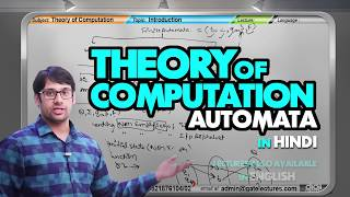 TOC 08 Introduction to Finite Automata (in Hindi)