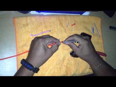 как сделать иглу для плетения паракорда