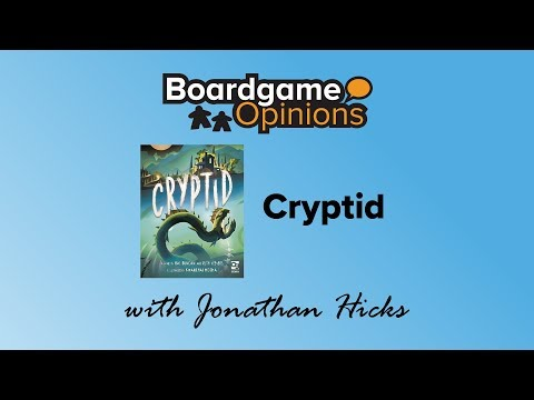 Boardgame Opinions: Cryptid