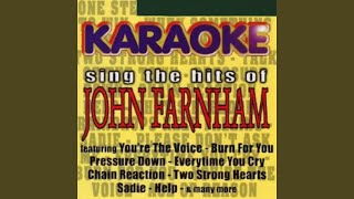 One Step Away (Karaoke Version)