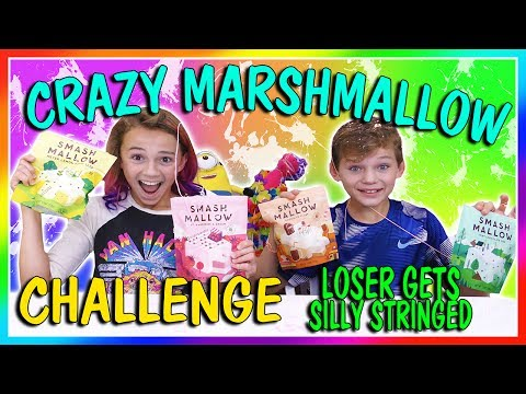CRAZY MARSHMALLOW TASTING CHALLENGE | LOSER GETS SILLY STRINGED | We Are The Davises