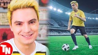 Felipe Neto comentou sobre sua música da Copa do Mundo 2018