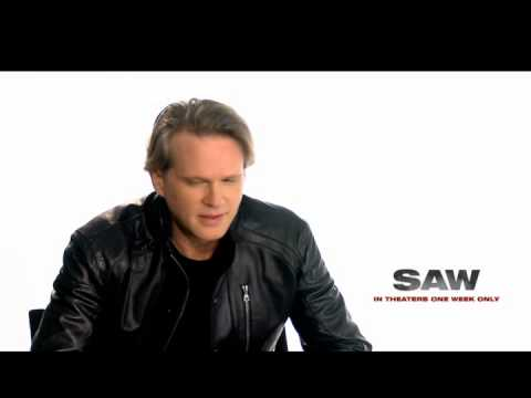 Carey Elwes discusses SAW 10th Anniversary , SAW back in theaters this Halloween