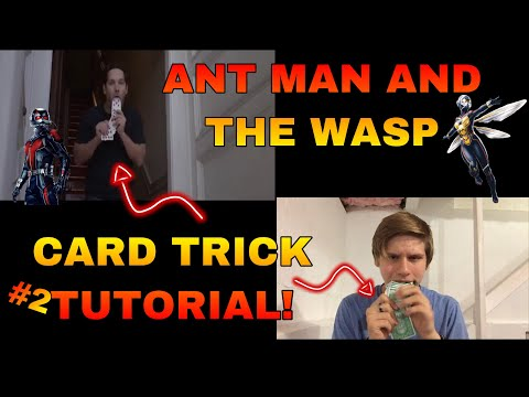 ANT MAN AND THE WASP CARD TRICK TUTORIAL!- (Part 2)