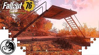 Fallout 76 PortaFort Variations - Four Mobile Camp Designs on One Foundation