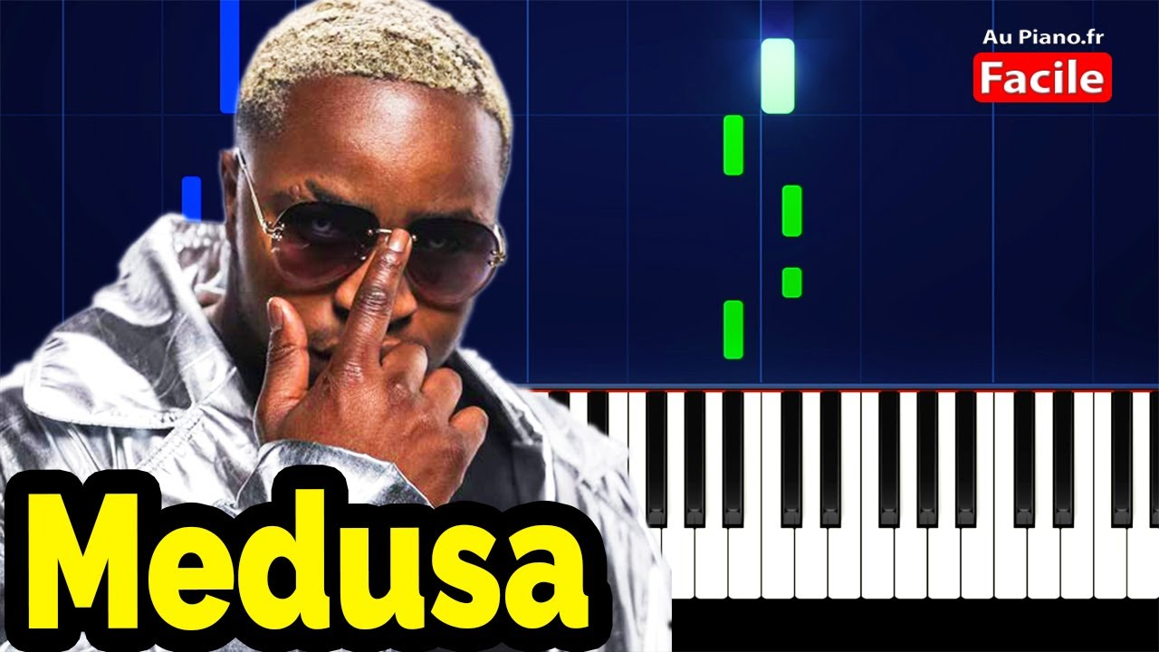 Landy Medusa - Piano Rap Cover Tuto Facile Instrumental (Au Piano.fr)