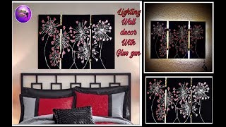Diy Abstract Wall Decor    Art And Craft   Craft Ideas   Fashion Pixies
