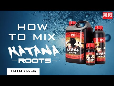 How to mix SHOGUN Katana Roots - Rooting Stimulator