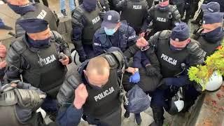 Stop Covid 1984! Ogólnopolski protest przeciw ograniczaniu wolności