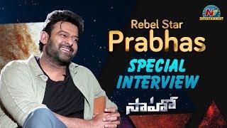 Prabhas Interview About Saaho Movie   Shraddha Kapoor   NTV Entertainment