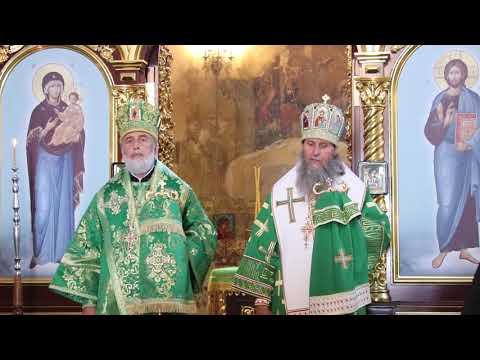 Митрополит Даниил впервые совершил Литургию в Успенском Далматовском монастыре