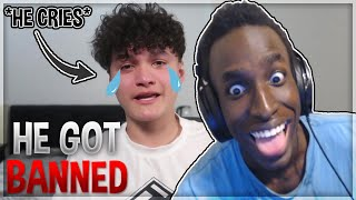 I've been Banned from Fortnite (I'm Sorry) {REACTION}