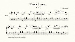 Schubert, Waltz in B minor, Op. 18, No. 6, D145