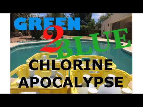 From Green to Blue in Minutes: Dropping the Calculated Chlorine BOMB!