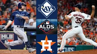 Rays vs Astros ALDS Game 1 Highlights