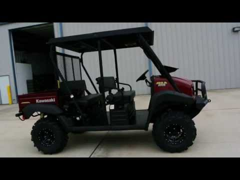 2013 Kawasaki Mule™ 4010 Trans4x4® Diesel in La Marque, Texas - Video 1