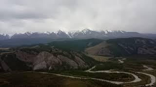 Курайская долина и Чуйский хребет