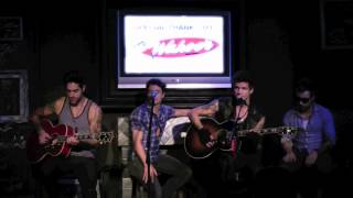 """The First Time"" - Boys Like Girls - KISS Live Music Lounge"