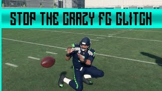MADDEN 18 - CRAZY FAKE  FG GLITCH AND HOW TO STOP IT