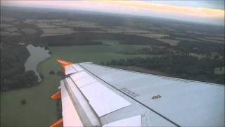 preview picture of video '(HD) Easyjet Airbus A319 Take-off from London Luton, 20/08/13.'