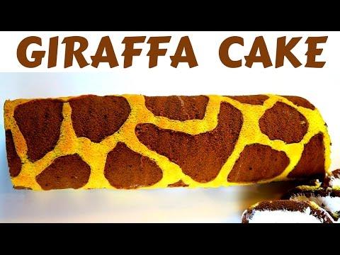 TORTA GIRAFFA FATTA IN CASA DA BENEDETTA - Homemade giraffe cake roll