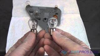 Brake Light Bulb Replacement Mercedes Benz