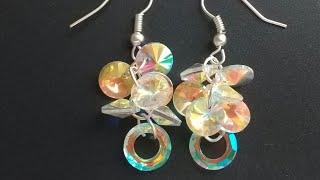 91396ac34430 ᐅ Descargar MP3 de Diy Haciendo Pendientes Aretes Con Cristales ...