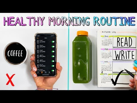 🔅My 5AM Healthy Morning Routine✨How To Be Happier & More Productive In 2019! 🌈 Mp3
