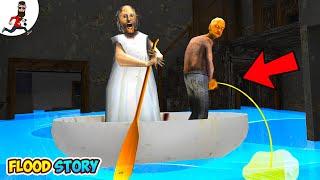 Flood in Granny's house ★ Funny Animation Granny, Grandpa, Ice Scream vs Aliashraf