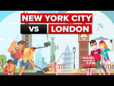New York City vs London - City Comparison