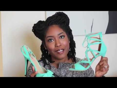 February 2015 Just Fab Haul & Review Spring Heels!!!!